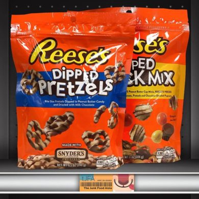 Reese's Popped Snack Mix and Dipped Pretzels