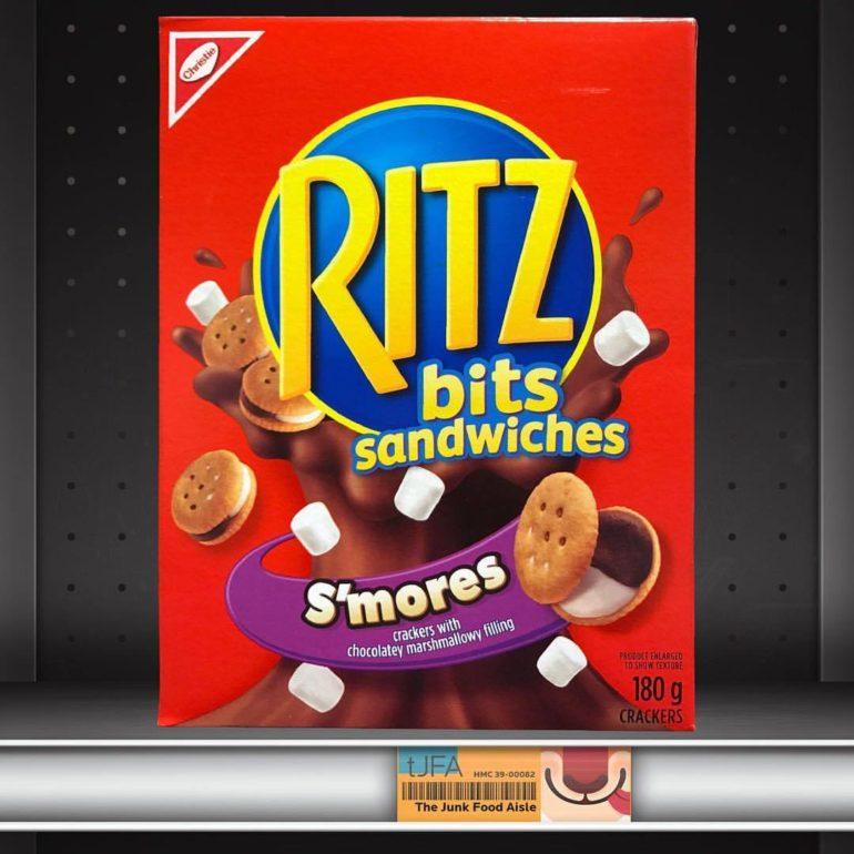 Ritz Bits S'mores Sandwiches
