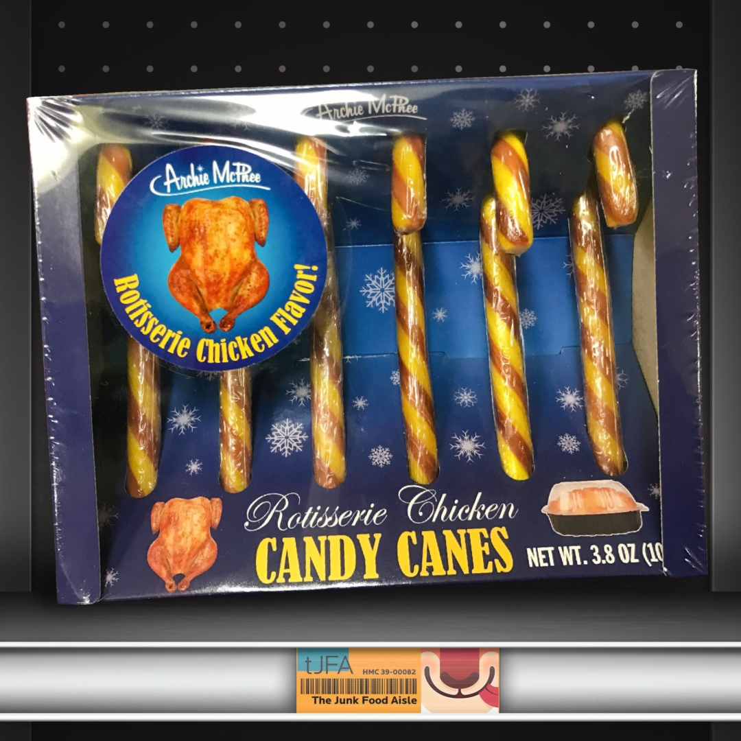 rotisserie chicken candy canes the junk food aisle