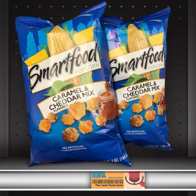 Smartfood Popcorn Caramel & Cheddar Mix