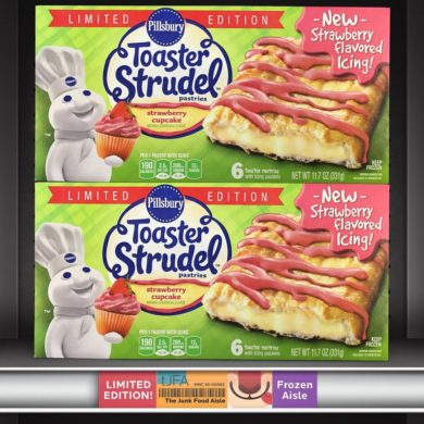 Strawberry Cupcake Toaster Strudels