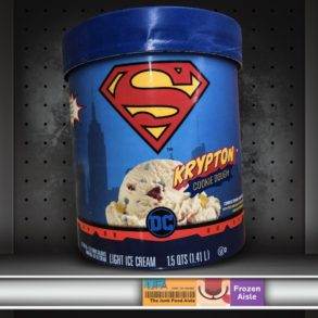 Superman Krypton Cookie Dough Ice Cream