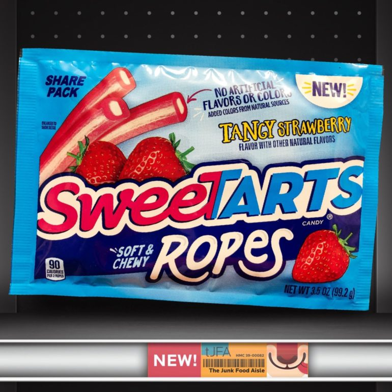 Tangy Strawberry SweeTARTS Ropes