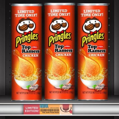 Top Ramen Chicken Flavored Pringles