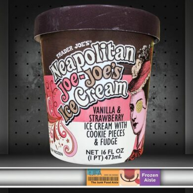 Trader Joe's Neapolitan Joe-Joe's Ice Cream
