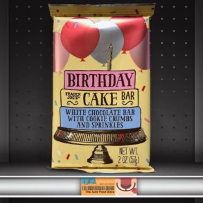 Trader Joe's Birthday Cake Bar