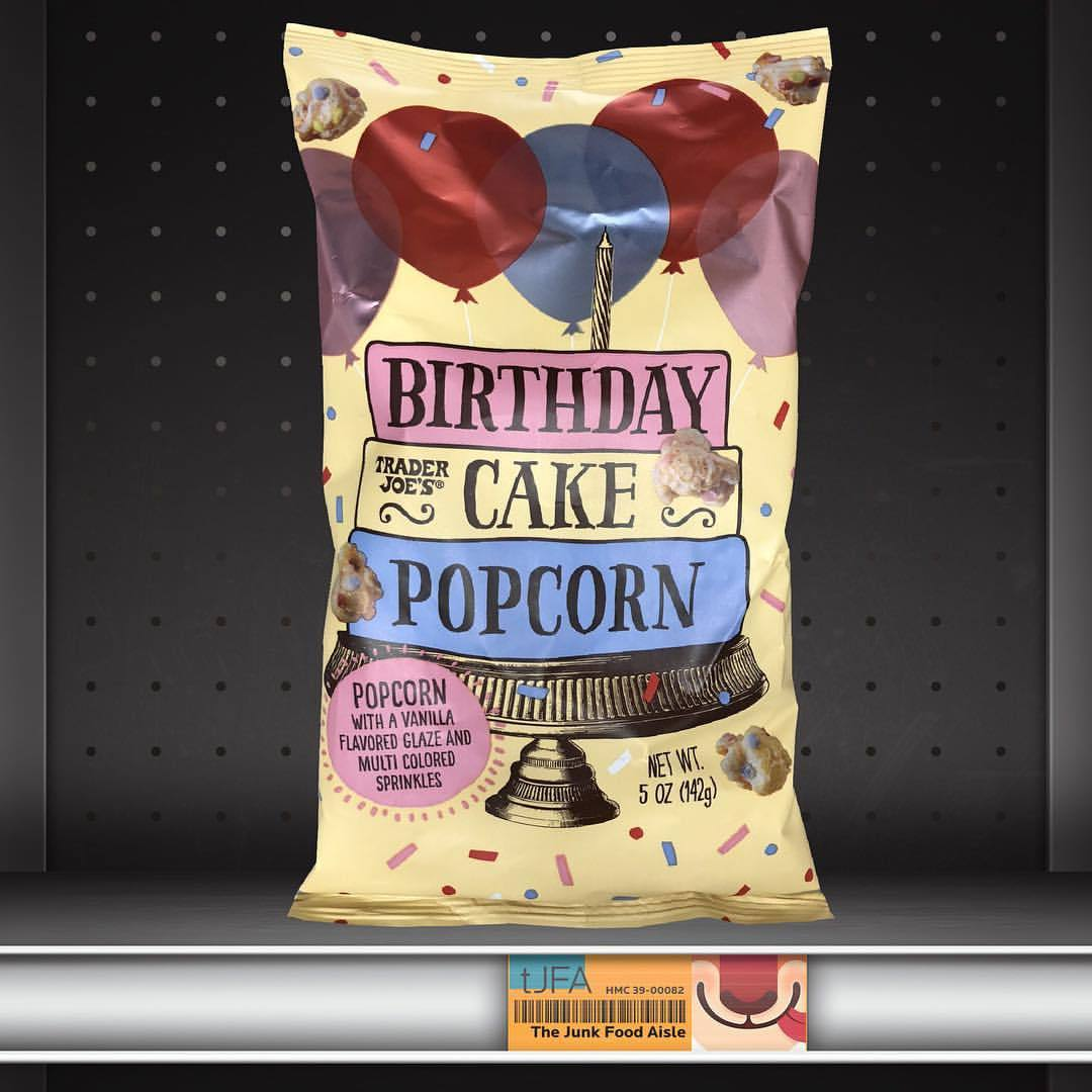 Trader Joe's Birthday Cake Popcorn