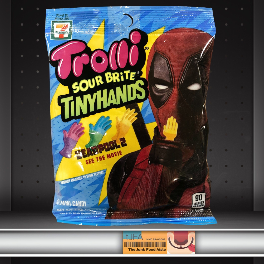 Trolli + Deadpool Sour Brite Tiny Hands