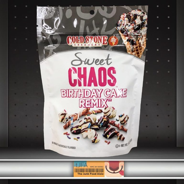 Wondrous Sweet Chaos Cold Stone Birthday Cake Remix Snack Mix The Junk Personalised Birthday Cards Rectzonderlifede