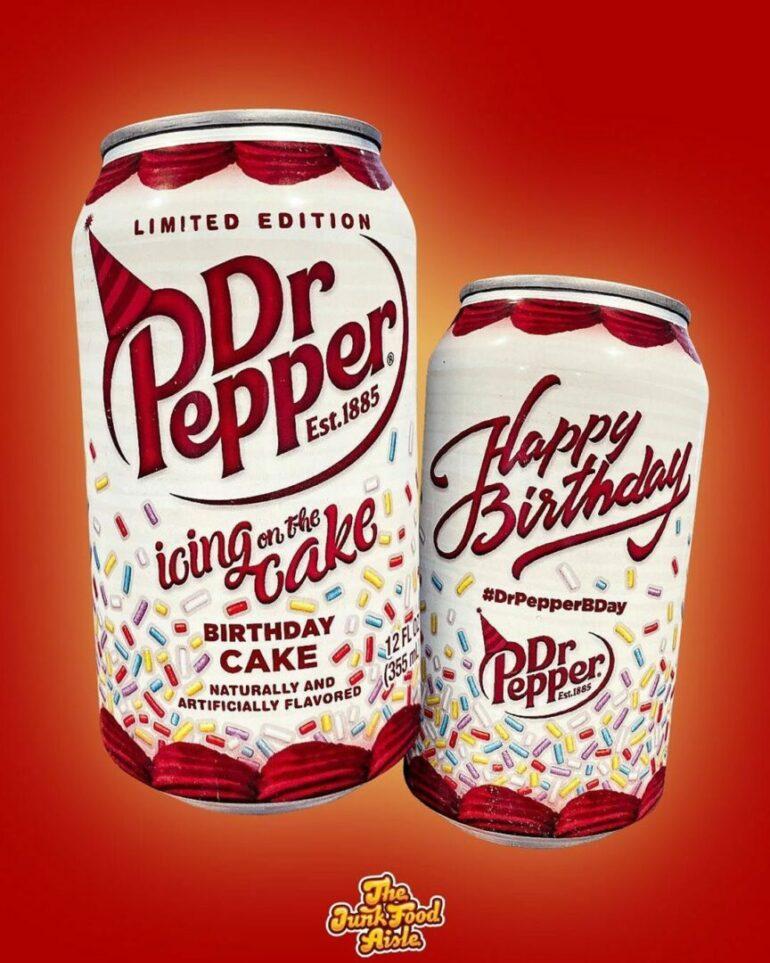 Pleasing Pepper Pack Members Receive Birthday Cake Dr Pepper The Junk Personalised Birthday Cards Bromeletsinfo