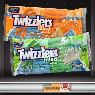 Twizzlers Filled Twists Flavor of Florida Orange Cream Pop & Key Lime Pie