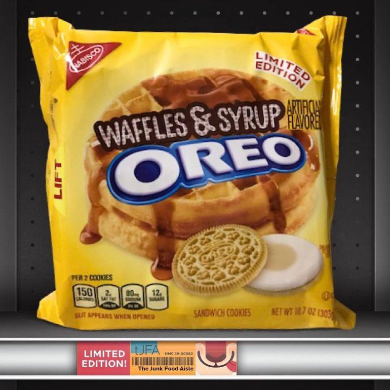 Waffles & Syrup Oreo