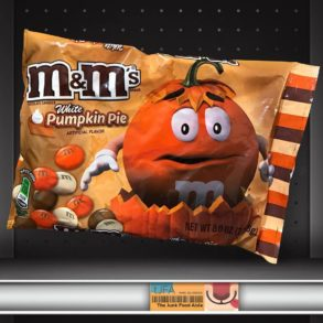 White Pumpkin Pie M&M's