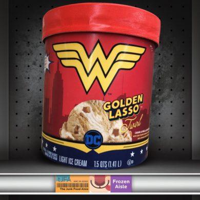 Wonder Woman Golden Lasso Twirl Ice Cream